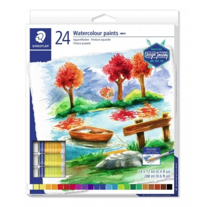 STAEDTLER WATER COLORS 12ml TUBE SET